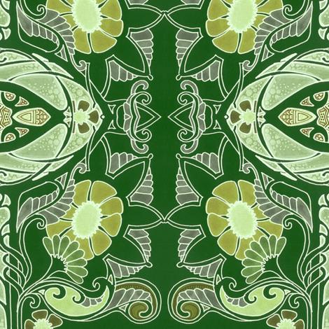 Twas Three Weeks Before Christmas fabric by edsel2084 on Spoonflower - custom fabric