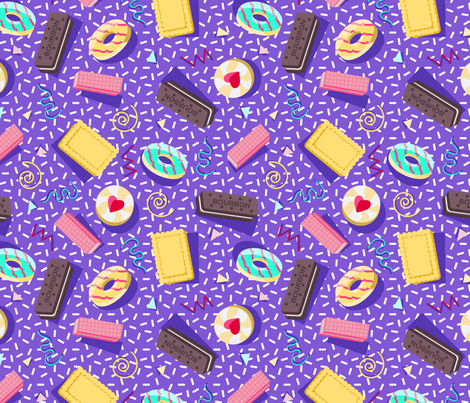 Oh Crumbs!  fabric by annieswift on Spoonflower - custom fabric