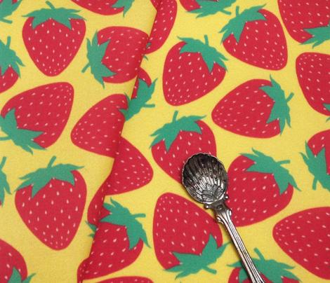 Strawberry - Yellow