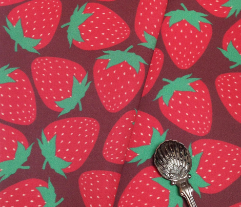 Strawberry - Maroon