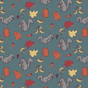 Fall Squirrels