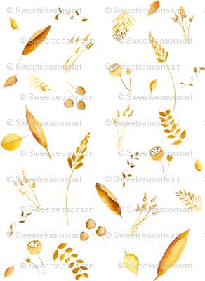 Fields of Barley - Gold