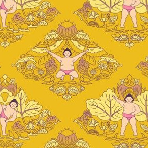 Ura • Floral sekitori • yellow