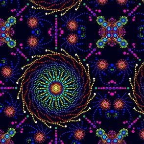 Midnight Pinwheel