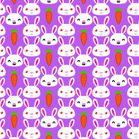 Bunny Rabbits fabric by jadegordon on Spoonflower - custom fabric