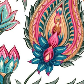 Persian Flower Design