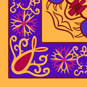 Arabian Carpet, 42.02in x 28.22in