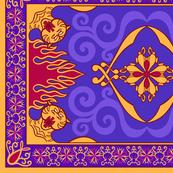 Arabian Carpet 13.4in x 9in