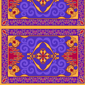 Arabian Carpet, 8in x 5.37in