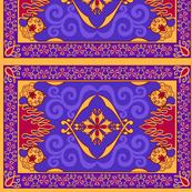 Arabian Carpet, 8in x 5.37in