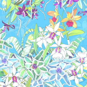 Orchid Jungle III Sky 175