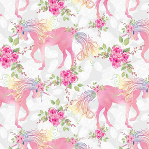 unicorn floral