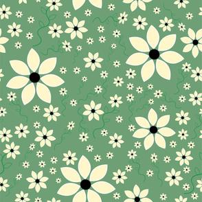 Daisy-my-Daisy  Light green