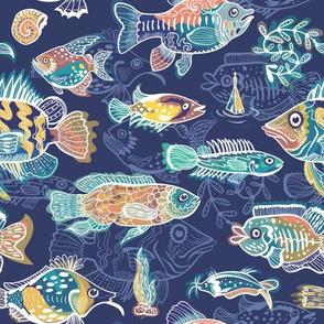 Blue Magic Fish