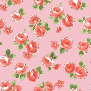 Large Rose pink