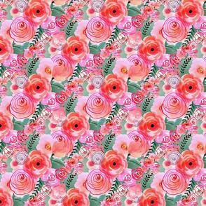 Modern Watercolor Rose
