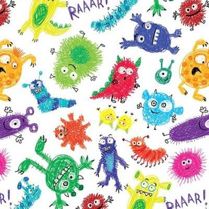 scribble little monsters