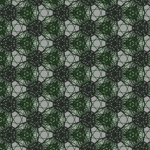 Lines grey green