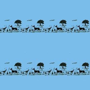 Bush_Hound_& Magpie-Sky_Blue