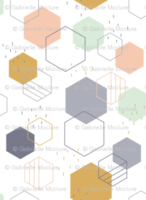 New Geometric Hexagons Small
