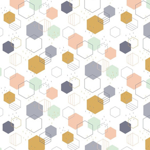 New Geometric Hexagons Small