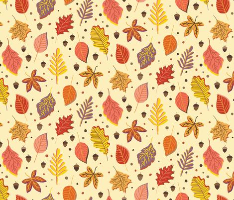 Rustic_Fall fabric by lprspr on Spoonflower - custom fabric