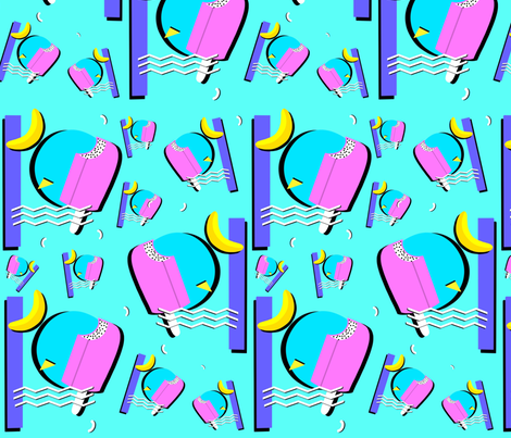 Memphis Style  fabric by rkweinandt on Spoonflower - custom fabric