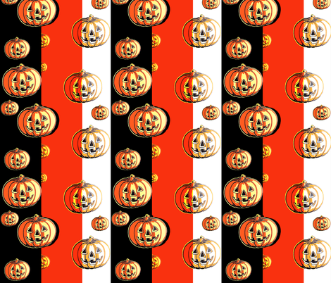 Pumpkin Parade fabric by gnarllymamadesigns on Spoonflower - custom fabric
