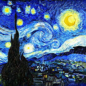 Borderless Starry Night