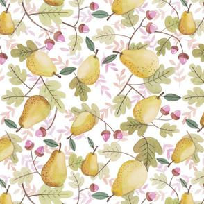 Fall Pear Affair
