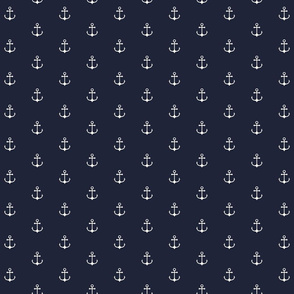 Anchor Navy - M