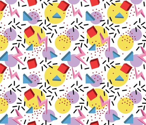 memphis  fabric by marta_strausa on Spoonflower - custom fabric