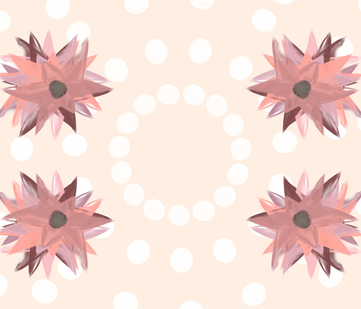 layer_flower fabric by dandybetty on Spoonflower - custom fabric