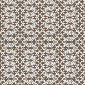 Taupe cubes