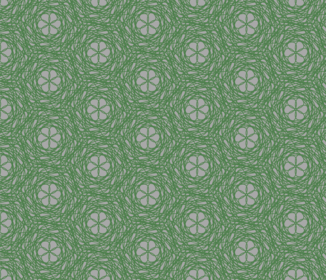 Country flowers fabric by sewingfever on Spoonflower - custom fabric