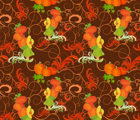 harvest fabric by cherju on Spoonflower - custom fabric