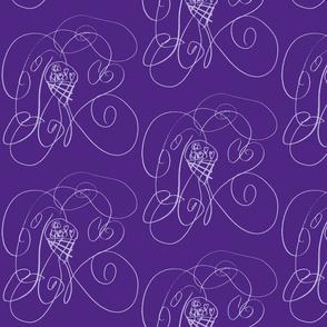 Lucy's Swirly Cone