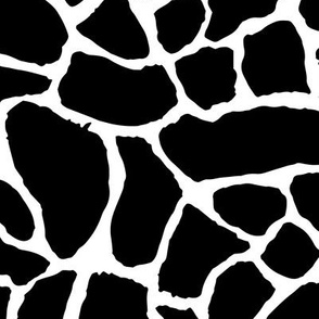 Tribal Texture Zeb (Black and White)
