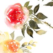 Colorful rose bouquets
