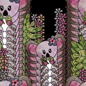 Koala watercolor pattern