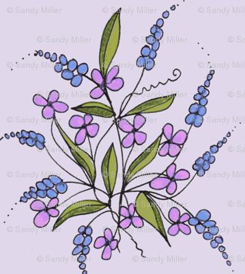lavender weeds