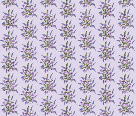 lavender weeds fabric by unclemamma on Spoonflower - custom fabric