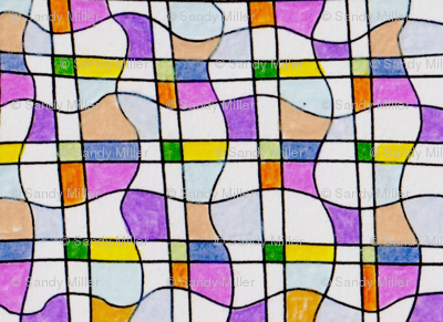 Curvy Stained Glass