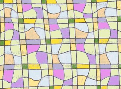 Diamond curvy grid