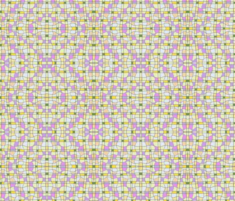 Diamond curvy grid fabric by unclemamma on Spoonflower - custom fabric