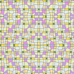 Diamond curvy grid