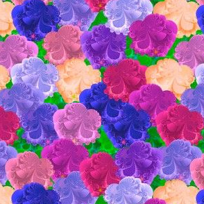 Fractal Cruciferous Flowers 2
