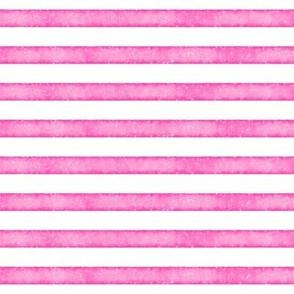 salted watercolor stripes // hot pink