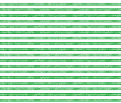 salted watercolor stripes // christmas green fabric by ivieclothco on Spoonflower - custom fabric