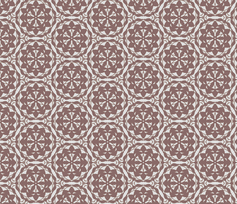 Rosy brown countrylook fabric by sewingfever on Spoonflower - custom fabric
